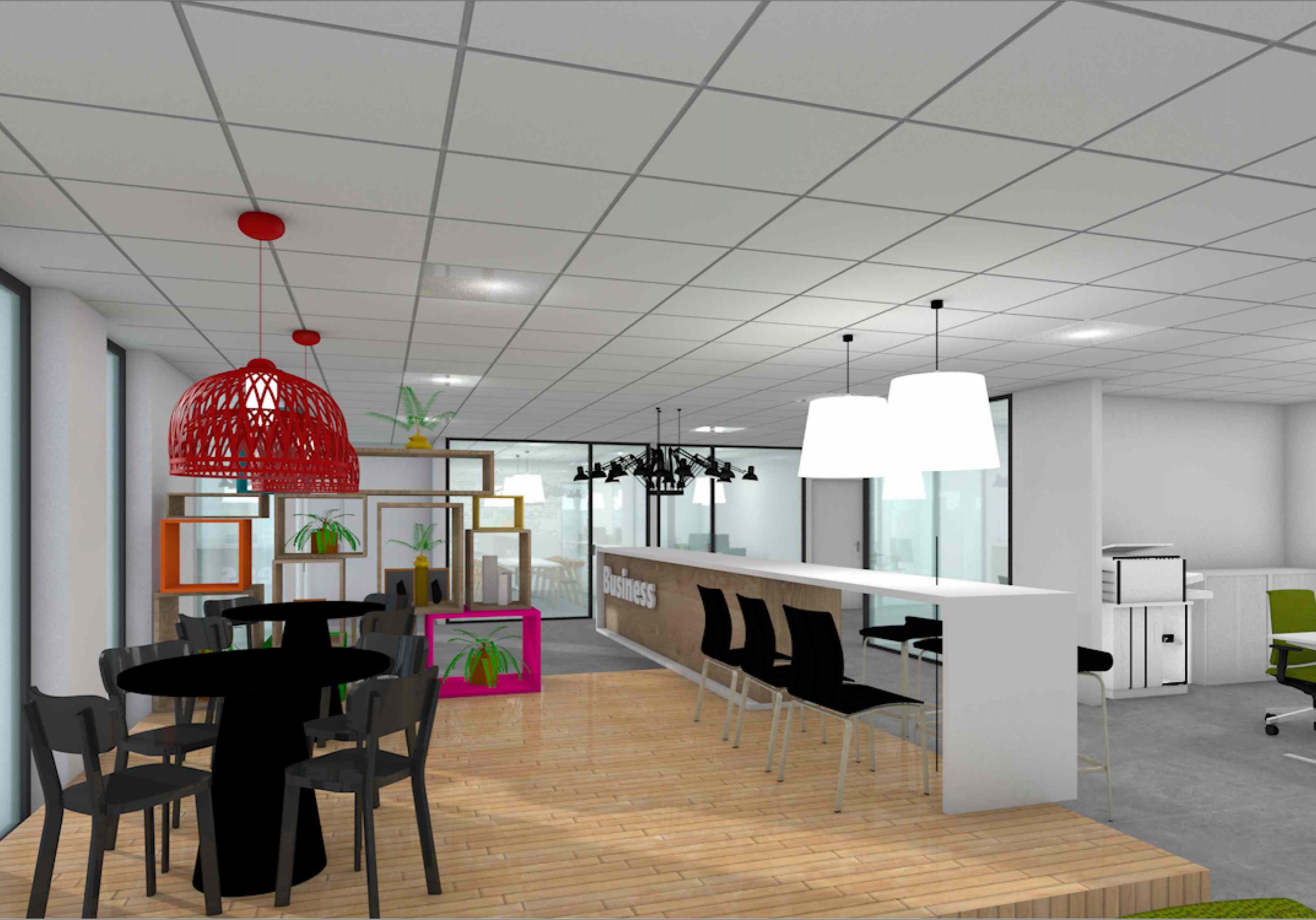 Rendering kantoor Eindhoven