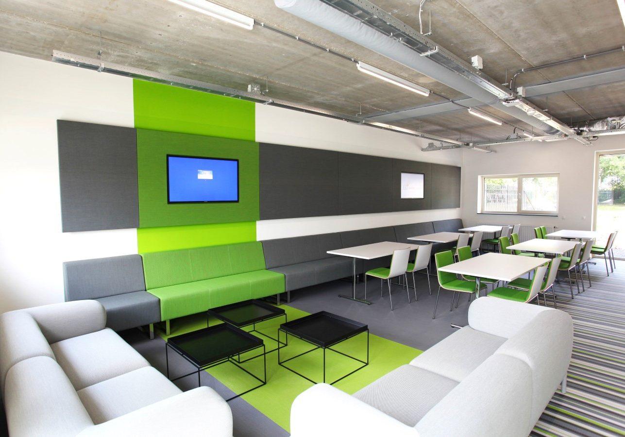 Kantoor interieur.     Ontwerp gemaakt in dienst van Puur Sang Eindhoven