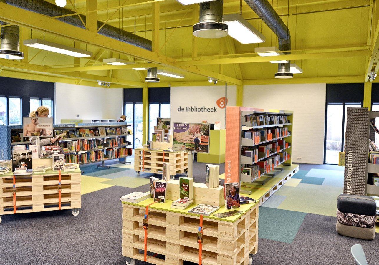 Bibliotheek Maarheeze. Ontwerp gemaakt in dienst van Puur Sang Eindhoven