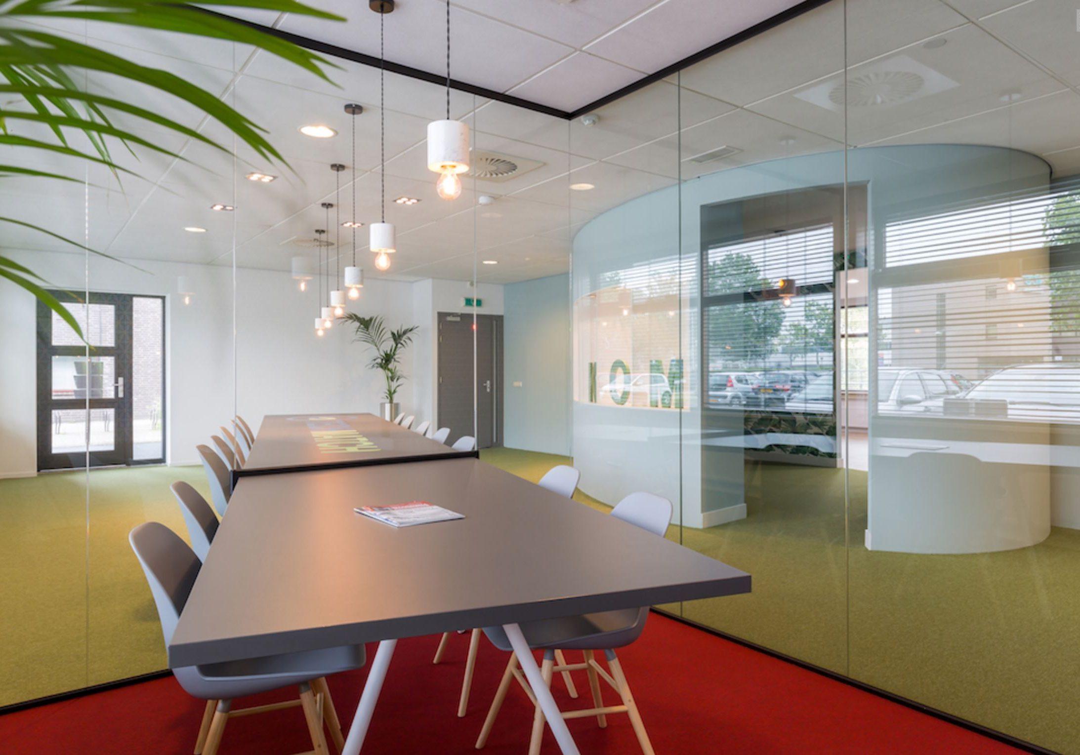 Interieur kantoor Techmatch Eindhoven